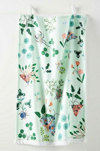 NWT Anthropologie Flora Waycott Botanical Dish Towel