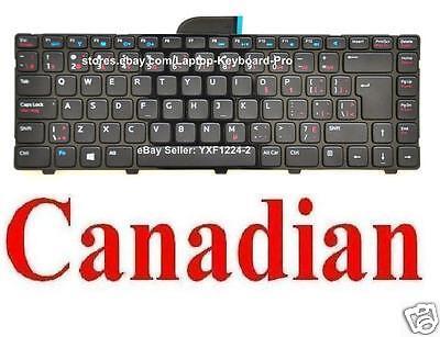Keyboard for Dell Inspiron 14-3421 14R-5421 15Z-5523 P26F Vostro 2421 078VCJ CA