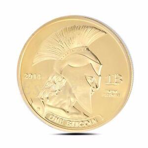 Bitcoin-Gold-Plated-Titan-Commemorative-Coin-BTC-Collectible-Bit-Coin-Physical