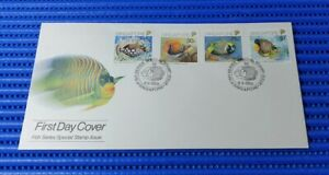 1989-Singapore-First-Day-Cover-Fish-Series-Special-Stamp-Issue