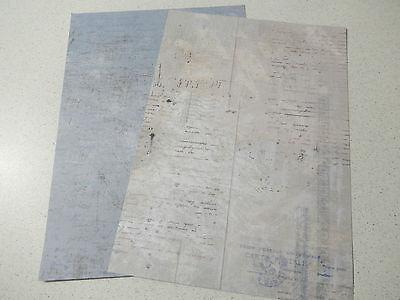 "Studiolight doppelseitiges Hintergrundpapier ""Vintage"" A4 124"