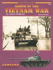 CONCORD ARMOR OF THE VIETNAM WAR (2) ASIAN FORCES ARVN PAVN ARK FANK LAOS TANKS
