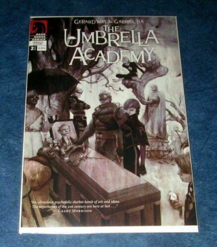 UMBRELLA ACADEMY V1 #2 1st print comic GERARD WAY DARK HORSE NETFLIX 1st app BOY