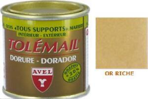PEINTURE-DORURE-OR-RICHE-TOLEMAIL-TOUS-SUPPORT-AVEL