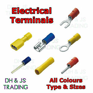Tremendous Insulated Crimp Terminals All Spade Butt Blade Pin Fork Ring Wiring Digital Resources Biosshebarightsorg