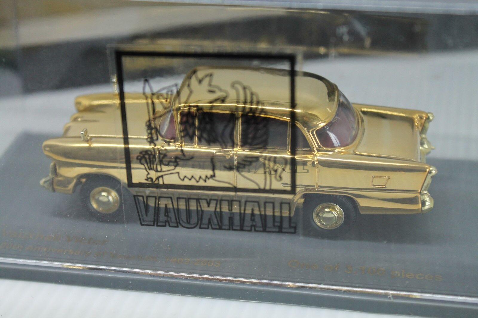Vanguards (Corgi)  Vauxhall Victor Victor Victor or  Neuf dans sa boîte  1 43  Limited dd0ab2