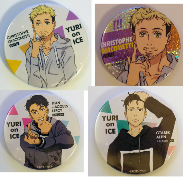 Yuri On Ice Official Comiket 91 Badges