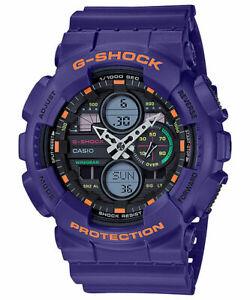 Casio-G-Shock-Special-Color-Neon-Genesis-Evangelion-Purple-Watch-GA140-6ADR