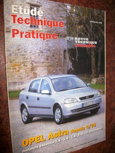 Opel ASTRA essence 16 soupapes revue technique RTA 629