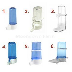 Bird-Water-Drinker-amp-Feeder-Bottles-Anti-Algae-Finch-Canary-Budgie-Birds-Cage