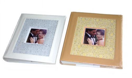 EXKLUSIV Hochzeitsalbum Fotoalbum für Hochzeit Fotos 60 weiße Seiten 29x32cm spe