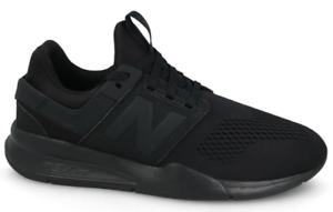 New Para hombre MS247EK tenis de correr Balance, Negro Negro