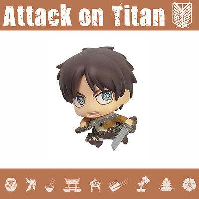 Attack On Titan Eren Yeager Color Colle Movic Mini Figure Authentic Ebay