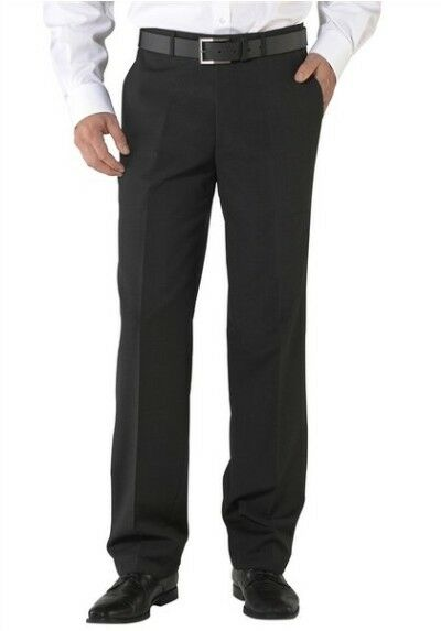 Class International Business Trousers Gr.60 New Wool Men's Suit Pants Anthracite