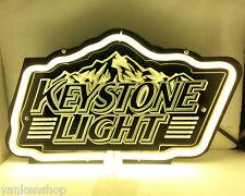 "SB179 Keystone Light Beer Bar Pub Display Neon Light 3D Acrylic Sign 11.5""X7"""