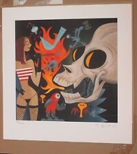 Tim Biskup Broken Beak art print rare #'d ltd ed ryden baseman ebay.com
