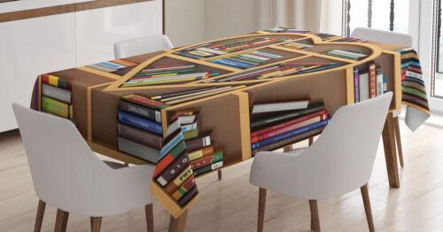 Bibliothèque Nappe amour-lesebücher cœur Digital Pression