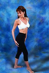 Leggings No Zippers Compression Garment Carpi Length