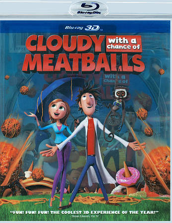 Cloudy With A Chance Of Meatballs 2009 Dvd For Sale Online Ebay
