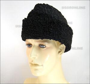 ad71a29f691 Image is loading RUSSIAN-Ambassador-Black-Astrakhan-Karakul -Persian-Lamb-Fur-