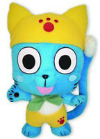 Sale Fairy Tail Anime Ge-52542 9 Happy In Yellow Official Plush Toy Stuffed
