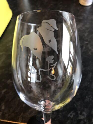 Wine Glass Jack Russel    *** CHECK ITEM DESCRIPTION***