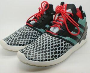 big sale bc8d1 97b28 Image is loading Adidas-Originals-Mens-ZX-8000-Boost-Black-Teal-
