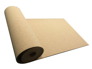 Details about CORK UNDERLAY CORK SHEET ROLL VARIOUS SIZES