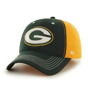 1082c4fcfa4b0 Green Bay Packers 47 Brand Carson Game Time Closer Hat Stretch Fit ...