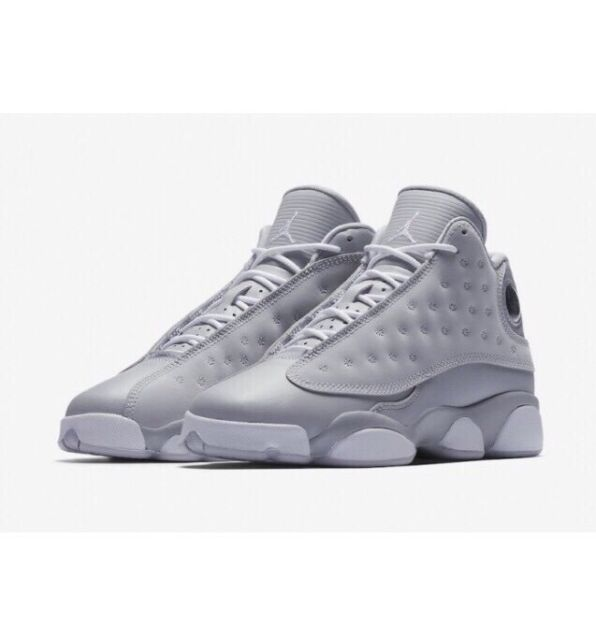 release date: b44e1 2bf6e Air Jordan 13 Retro Wolf Grey Deadly Pink White GG GS 439358-018 Size 5-8.5