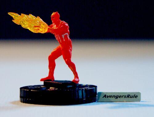 Marvel Heroclix Uncanny X-Men 043a Sunfire Rare