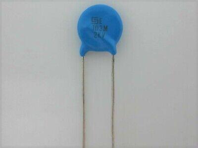 15 PCS .01uf @ 2Kv 2000v Disc Ceramic Capacitor ref # 85 10nf 103 0.01uf