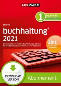 Lexware buchhaltung 2021 - Abo Version, Download, Windows