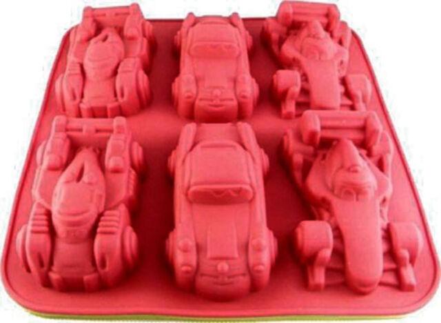 3D Neu Selten Silikon Backform für Autos  siehe Fotos Kindergeburtstag