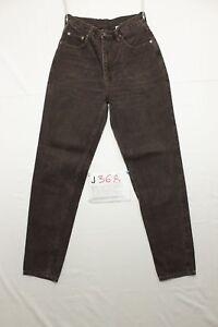 Lee-en-velours-brun-Boyfriend-jeans-d-039-occassion-Cod-J368-Taille-42-W28-L30-femme