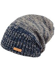 Barts Brighton  Mens Beanie in Blue