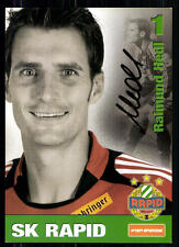 Raimund Hedl Rapid Wien 2010-11 Autogrammkarte Original Signiert + A 85407