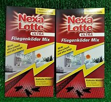 2x Nexa Lotte ULTRA FLIEGENKÖDER MIX!(2 Blumen +6 Streifen) gratis Versand in DE
