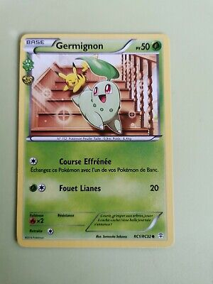 NEUVE GENERATIONS GERMIGNON RC1//RC32 CARTE POKEMON