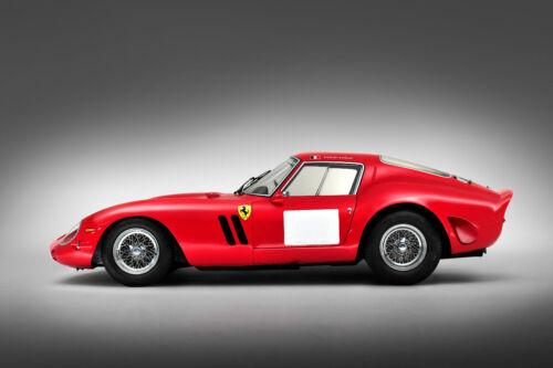 VINTAGE 1962 FERRARI 250 GTO RACE CAR POSTER PRINT 24x36 HIGH RES