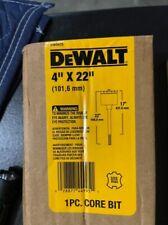 Dewalt Max Core Drill Bit Dw5925 4 X 22 Carbide Tipped