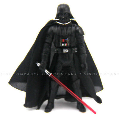 3.75/'/' Darth Vader Star Wars 2005 Collectible Figure /& lightsaber weapon Toy