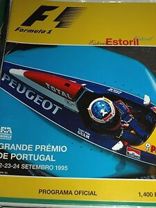 estoril grand prix portugal f1 programme 1995 j christopher boullion arrows hart ebay. Black Bedroom Furniture Sets. Home Design Ideas