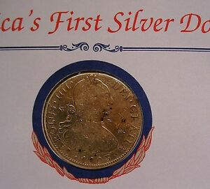 America-039-s-First-Silver-Dollar-1803-Spanish-8-Reales-Piece-of-Eight-Pillar