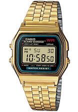 CASIO Alarm-Chrono Digitaluhr A159WGEA-1EF