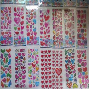 5-Sheet-Bubble-Stickers-3D-Cartoon-KIds-ClassicToys-Sticker-School-Reward-Gif-Mt