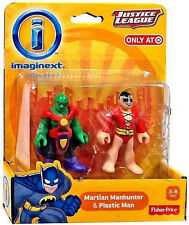 FISHER PRICE IMAGINEXT_Justice League Collection_MARTIAN MANHUNTER & PLASTIC MAN