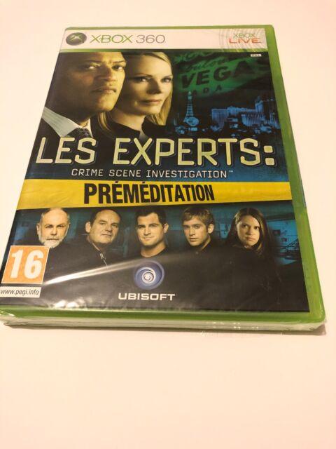 jeu xbox 360 fr neuf blister les experts crime scène investigation premeditation