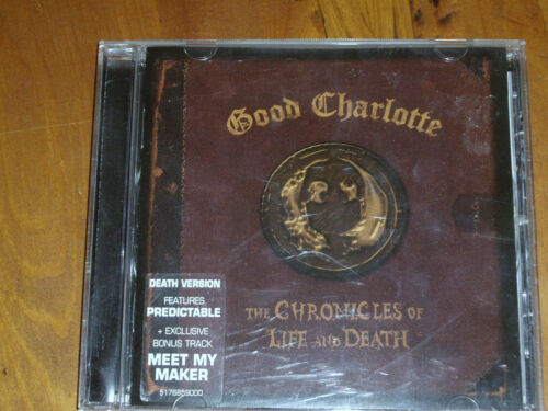 1 of 1 - GOOD CHARLOTTE * CD  ' THE CHRONICLES OF LIFE AND DEATH ' 2004 EXC