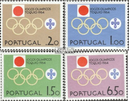 Portugal 968971 mint never hinged mnh 1964 Summer